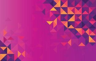 fond de formes triangulaires géométriques abstraites vecteur
