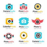 Vecteur de logo photographe