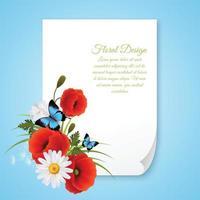 Illustration vectorielle de carte postale réaliste 8 mars vecteur