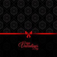 Damas Saint Valentin fond vecteur