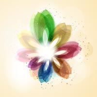 Art floral vecteur