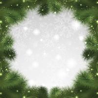 Fond d'arbre de Noël vecteur