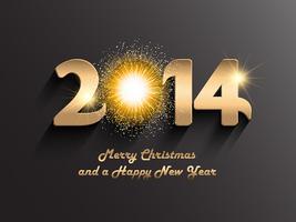Fond de Noël et nouvel an