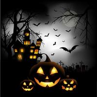 Fond d'halloween vecteur