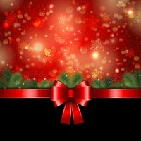 Fond de ruban de Noël vecteur