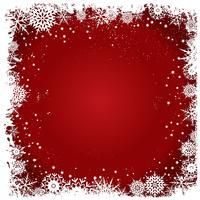 Fond de flocons de neige de Noël grunge