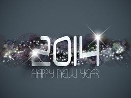 Bonne année fond vecteur