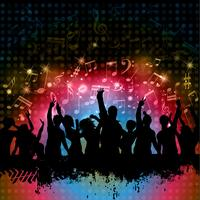 Fond fête grunge