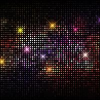 Fond de lumières disco vecteur