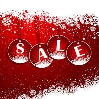 Fond de vente de Noël vecteur