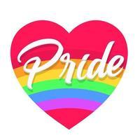 conception d'affiche lgbt gay pride lgbtq ad divercity concept vecteur