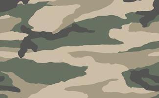 texture de camouflage militaire fond imprimé kaki - vecteur