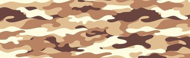 kaki panoramique militaire ou de chasse vecteur