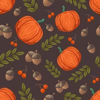 Motif d'automne vecteur