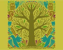 illustration d'arbre de cercle