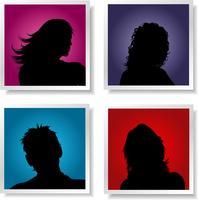 Les avatars des gens vecteur