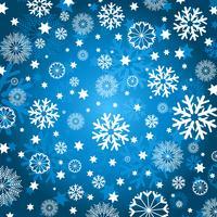 fond de flocon de neige