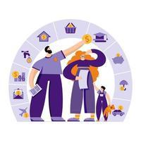 gestion du budget familial vecteur