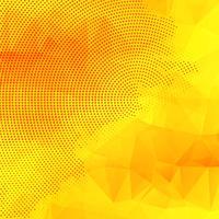 Abstrait de polygone coloré brillant vecteur