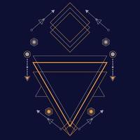 motif de géométrie sacrée pour le fond, vecteur poster.eps 10