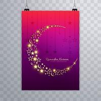 Belle Ramadan kareem brochure fond