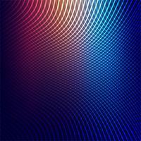 Vecteur de conception abstraite lignes géométriques colorées créatives