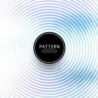 Cercles bleus modernes fond de vague vecteur