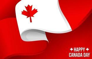 joyeux jour du Canada vecteur