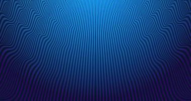 fond de vecteur abstrait vibrant avec des lignes parallèles agitant bleu et violet