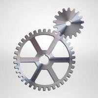engrenage en métal de l'industrie vecteur