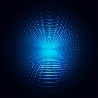 Lignes de tourbillon créatif bleu abstrait fond illustration vecto