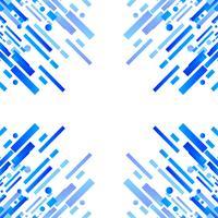 Arrière-plan de ligne géométrique colorée moderne vecteur