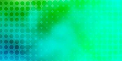 modèle vectoriel vert clair avec des sphères.