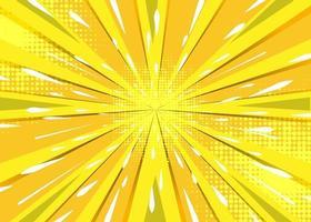 conception de fond de zoom bande dessinée abstraite vecteur