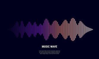 fond abstrait de musique coloré en égaliseur de gradations rouge et blanc bleu violet pour illustration vectorielle de musique vecteur