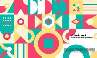 conception minimale de fond géométrique abstrait vecteur