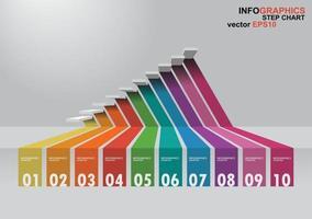 Infographie en 3 dimensions vecteur