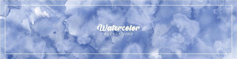 fond peint aquarelle bleu clair pastel vecteur