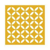 motif de découpe laser et vecteur de conception de motif islamique