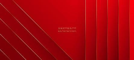 illustration vectorielle abstraite fond rouge vecteur