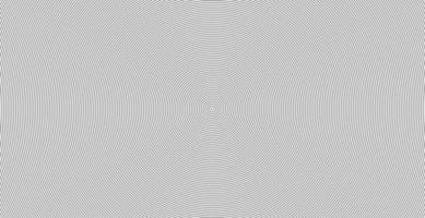 motif de ligne abstraite cercle concentrique onde sonore vecteur