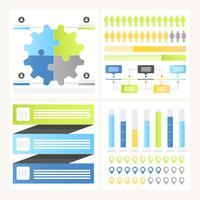 Éléments d'infographie vectorielle et illustration vecteur