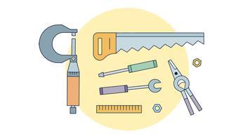 Vecteur d'outils