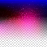 Conception scintillante abstraite sur fond transparent