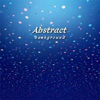 Illustration vectorielle de confettis colorés modernes fond