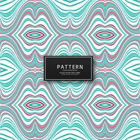 Impression de fond géométrique lignes colorées