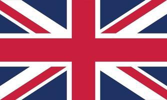illustration vectorielle du drapeau du royaume-uni vecteur