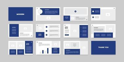 modèle de conception de diapositives de présentation PowerPoint et Keynote vecteur