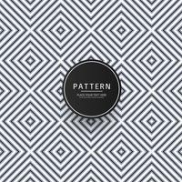 Illustration de conception de motif géométrique sans soudure vecteur