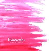 Fond aquarelle dessiné main rose